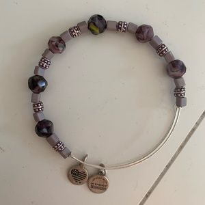 Alex&ani purple bracelet
